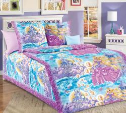 """Купить детское постельное белье из перкаля """"Принцесса вид 1"""""""