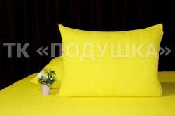 Купить желтые махровые наволочки на молнии в Новосибирске