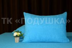 Купить голубые махровые наволочки на молнии в Новосибирске