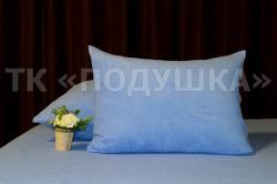 Купить синие махровые наволочки на молнии в Новосибирске