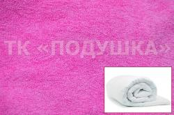 Купить розовый махровый пододеяльник  ТМ Подушка в Новосибирске