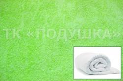 Купить салатовый махровый пододеяльник  в Новосибирске